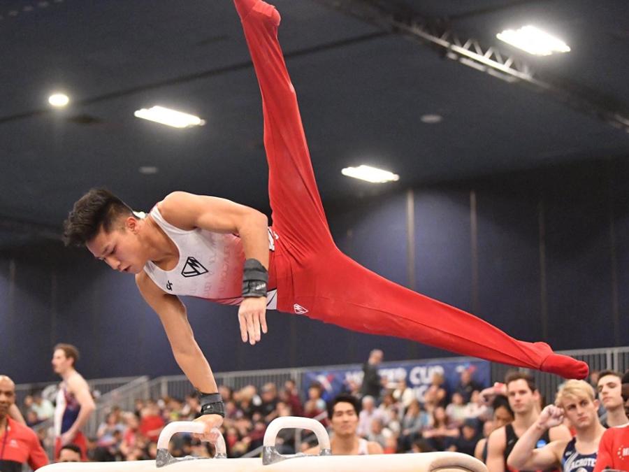 Yul Moldauer | Gymnast Card
