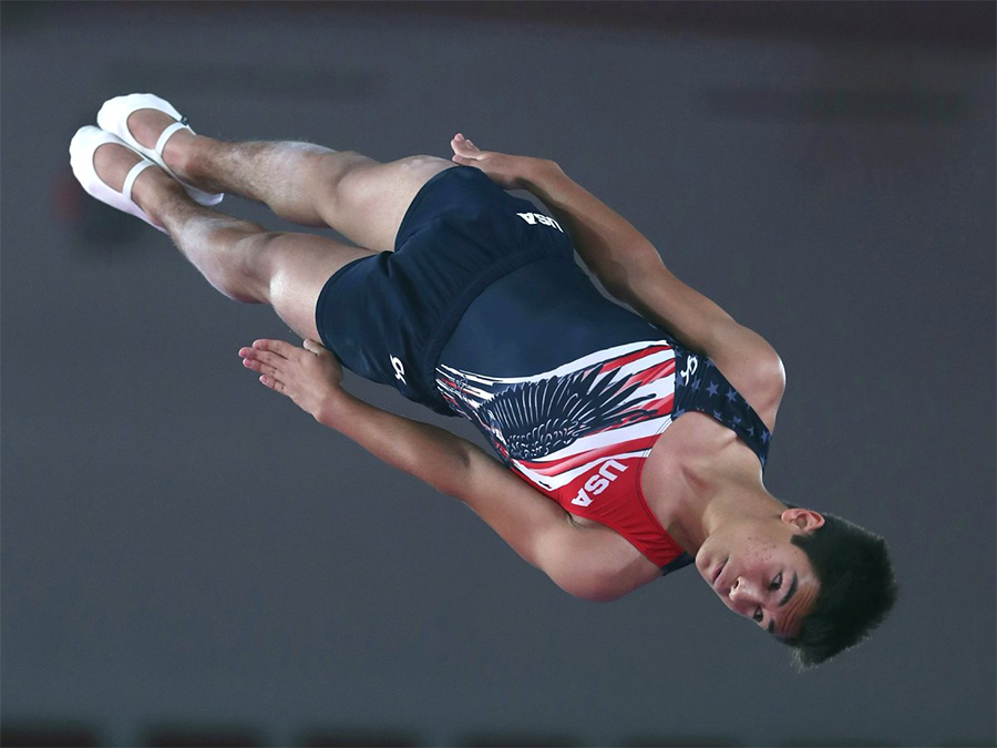 Ruben Padilla | Gymnast Card