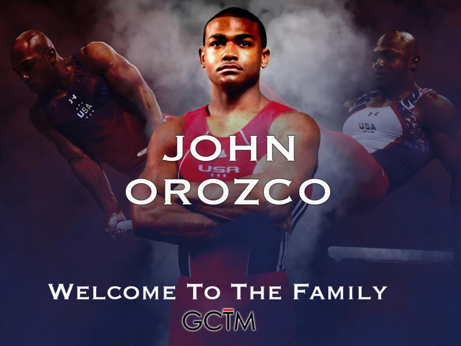 John Orozco Signs with GymCrew